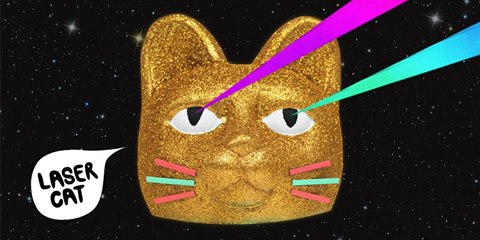 Laser Cat Miami April 2014