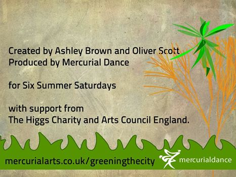 Greening The City July 2012